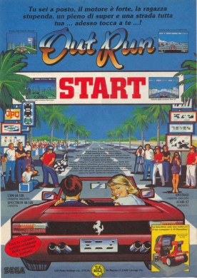 Out Run de Sega