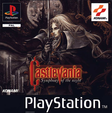 Portada de Castlevania - Symphony of the Night de Konami
