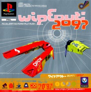 Wipeout 2097 de Psygnosis